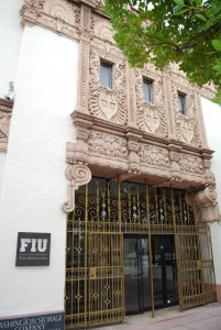 L'ingresso dell'Art Decò Museum a Miami