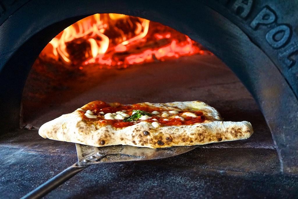 O Munaciello slice of pizza