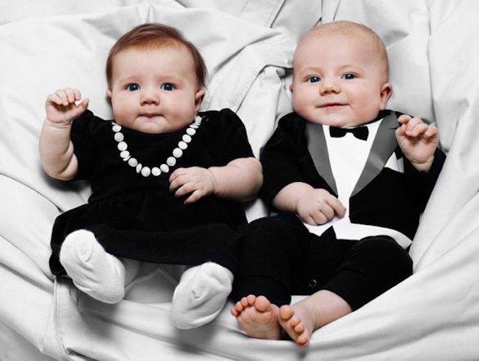 Chi ha detto che i neonati non hanno stile?