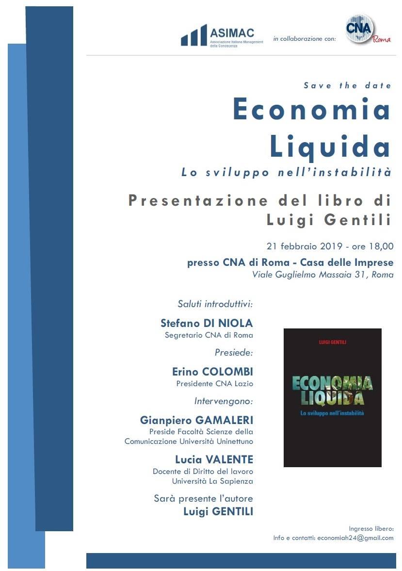 Luigi Gentili presentazione Libro