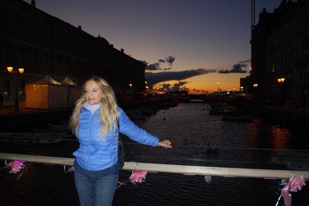 Fabiola Cinque a Trieste