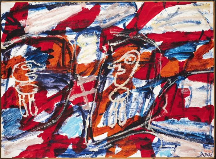 Jean Dubuffet, l'arte in gioco. A Reggio Emilia più di 140 opere del grande artista
