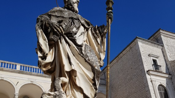 Sul Cammino di San Benedetto, Patrono d'Europa