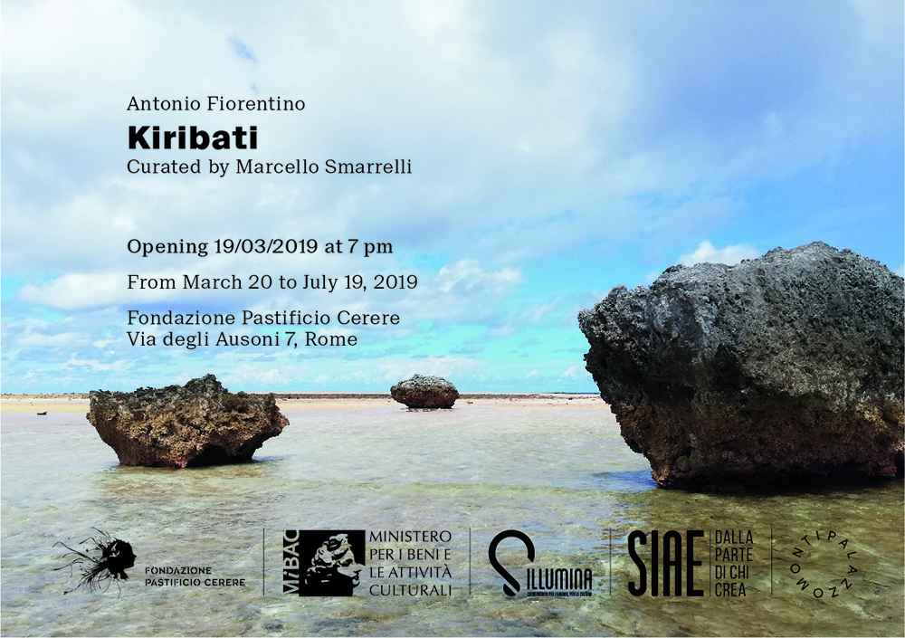 Kiribati invitation Fondazione Pastificio Cerere