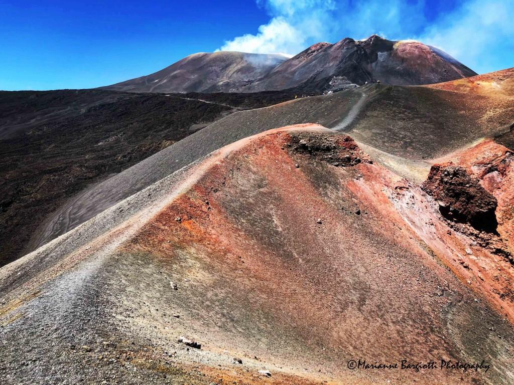 Etna, i crateri dalla Torre del Filosofo