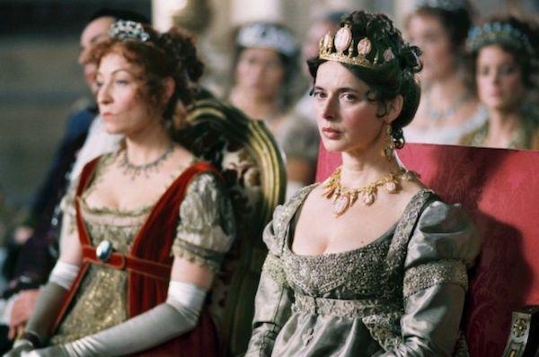 Isabella Rossellini nei panni di Josephine Bonaparte in Napoléon