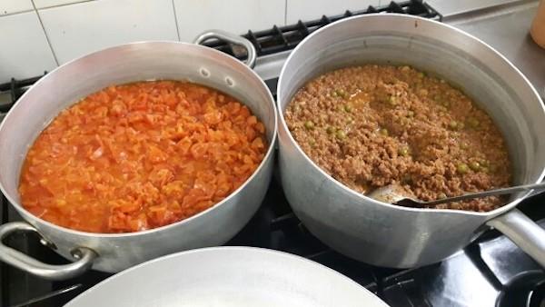 Spaghetti alla Napoletana VS Spaghetti alla Bolognese, che sfida all'Ippodromo di Bologna!