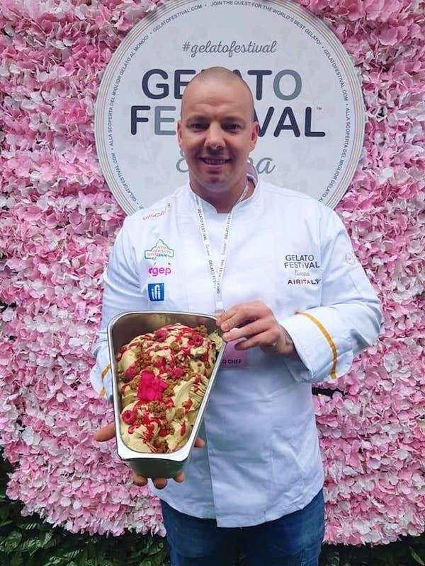 Gelato Festival, trionfa la Frutta di pistacchio di Adam Fazekas