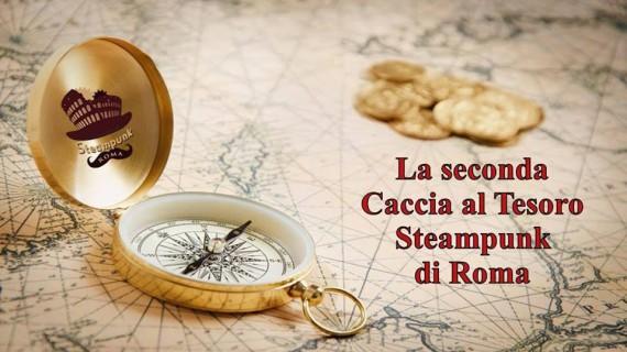 Steampunk Roma, arriva la Caccia al Tesoro per le vie della Città Eterna!