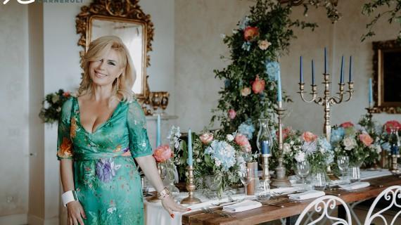 Barbara Vissani lancia Villa Baldacchini nella stratosfera del Wedding!