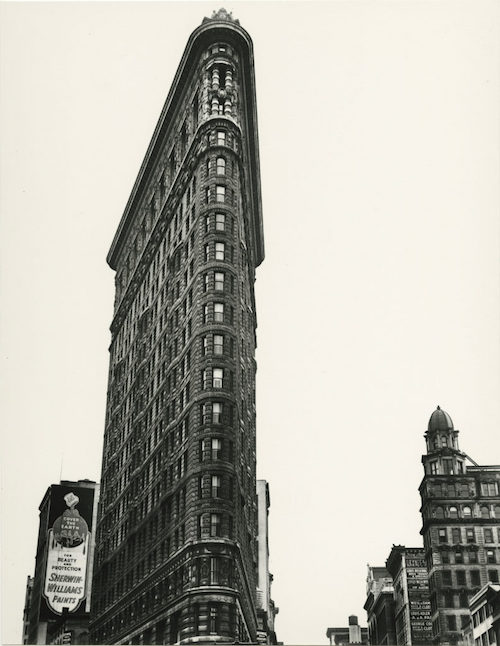 Berenice Abbott, Flatiron Building, Madison Square, New York, 1938