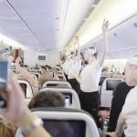 Opéra di Parigi: sorpresa pazzesca del corpo di ballo sul volo Air France