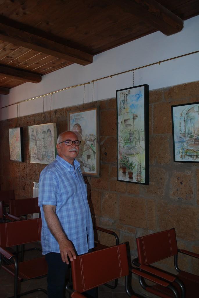 Riccardo SANNA al Castello di Proceno