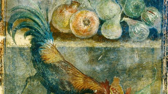 Last supper in Pompei mostra le abitudini quotidiane degli antichi Romani ad Oxford