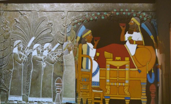 Gli Assiri all'ombra del Vesuvio, inaugurazione al MANN per le Universiadi