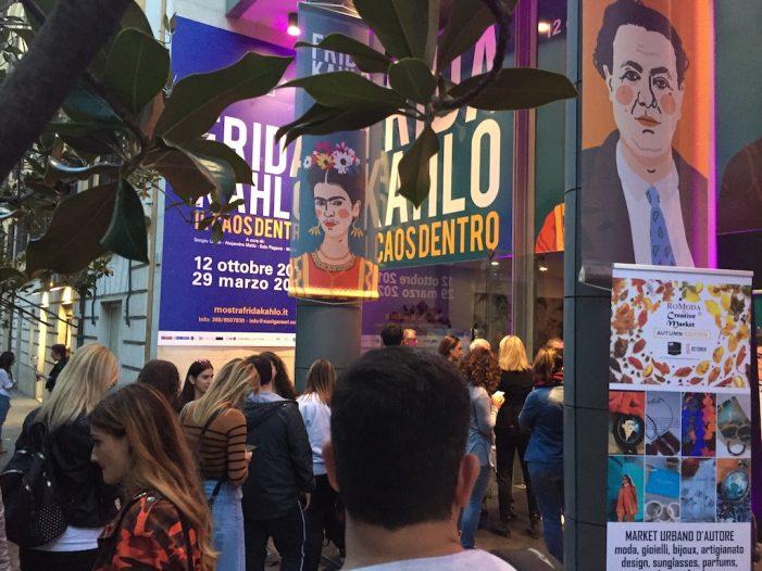 Il Caos Dentro, visitatori record per la grande mostra su Frida Kahlo!