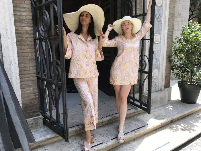 Hanna Moore brand emergente del made in Italy alla MFW