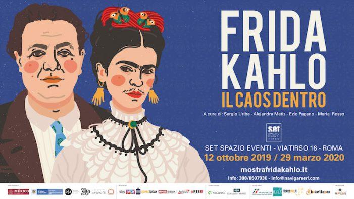 Il Caos Dentro, la grande mostra di Frida Kahlo e Diego Rivera