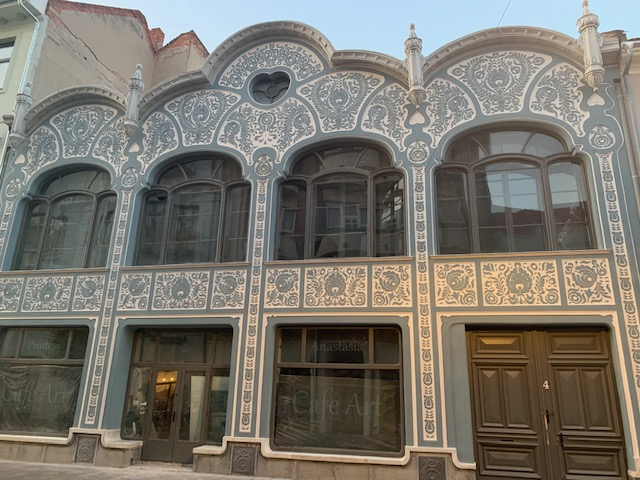 art nouveau in Romania