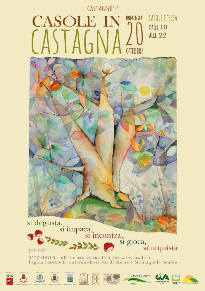 Al via la prima edizione di Casole in castagna in val d'elsa