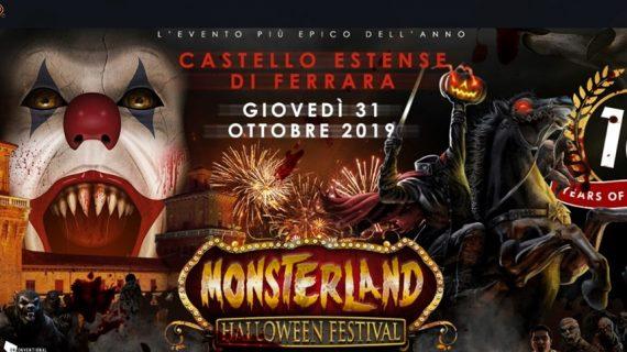 Ecco il grande evento Monsterland Halloween Festival