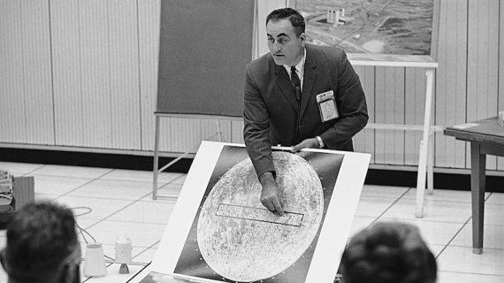 Renato Cantore racconta Rocco Petrone, l'italiano dell'Apollo 11