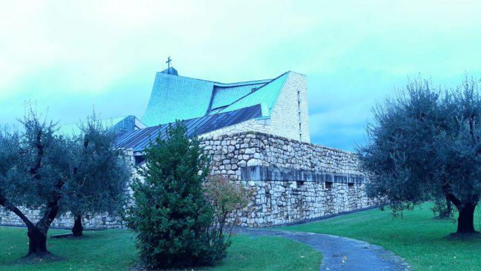 La Chiesa dell'Autostrada: Andrea Bulletti omaggia l'architetto Michelucci