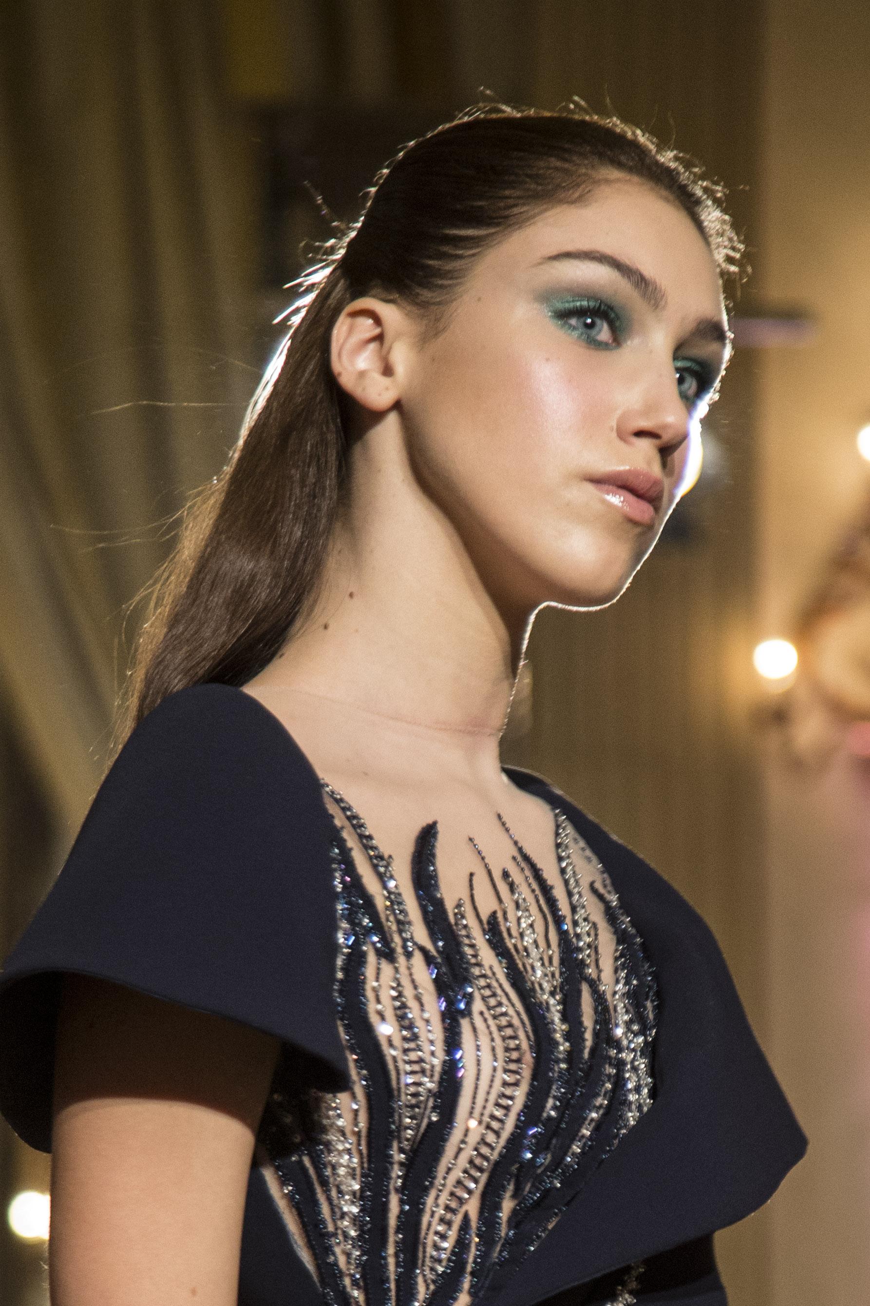 Makeup tonalità di blu foto Marco Serri