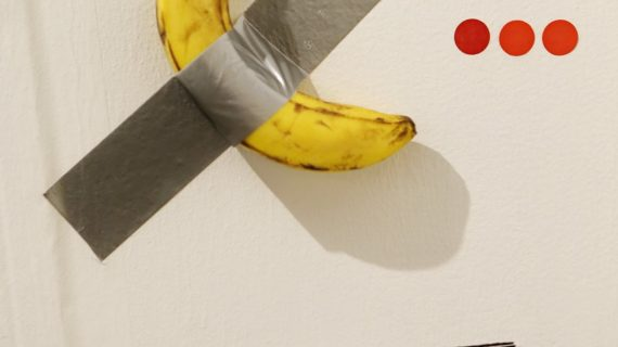 Art Basel Miami Beach: una banana ci seppellirà