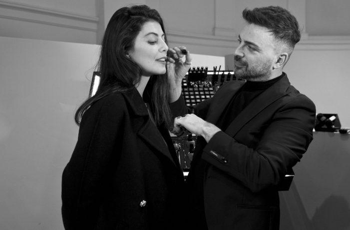 Intervista a Simone Belli al suo Christmas beauty day