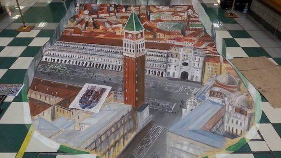 Natale Insieme: a Cori, l'arte dei Madonnari e il 3D Street Art Show