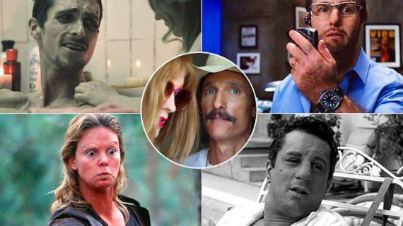 Le 10 trasformazioni più estreme della storia del cinema