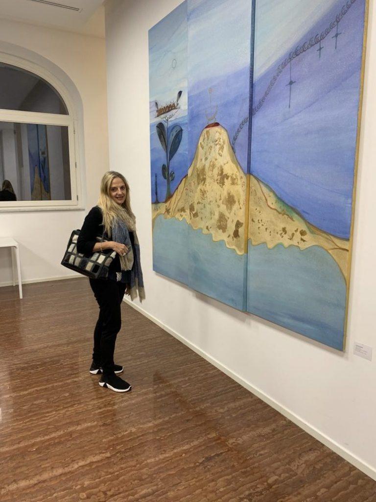 Fabiola Cinque a apolidi a Palazzo Merulana