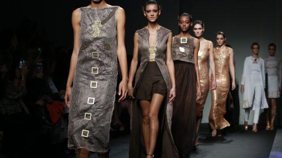 Le eleganti donneguerriere di Sabrina Persechino sono il vero sogno dell'alta moda