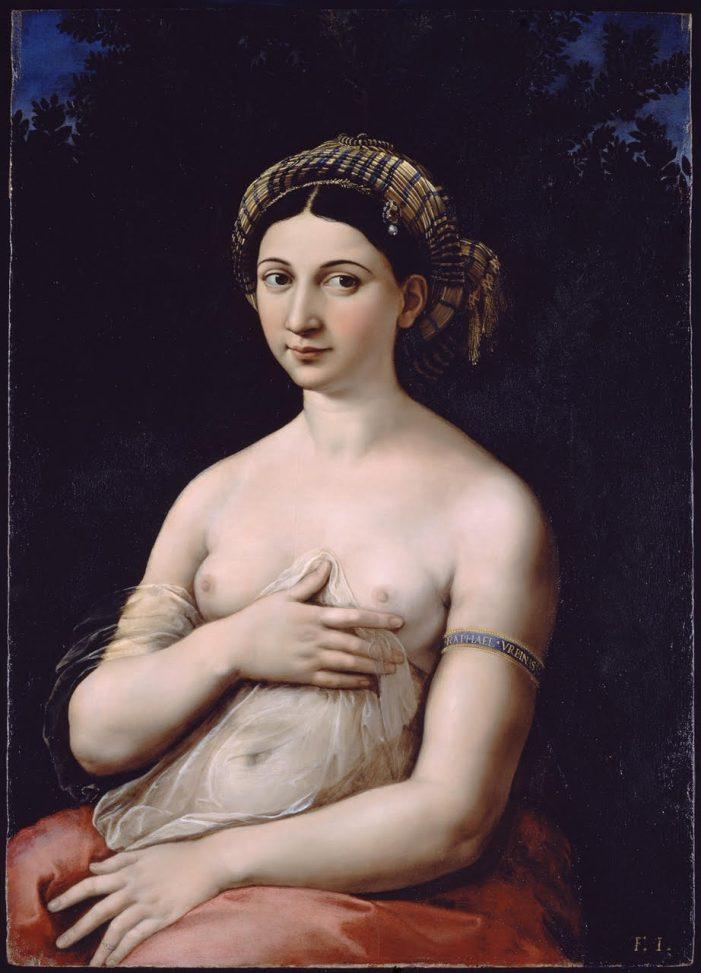 Palazzo Barberini zooma su Raffaello: la Fornarina da vicinissimo!