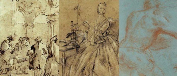 Disegnare dal vero: Tiepolo, Longhi e Guardi in mostra a Venezia