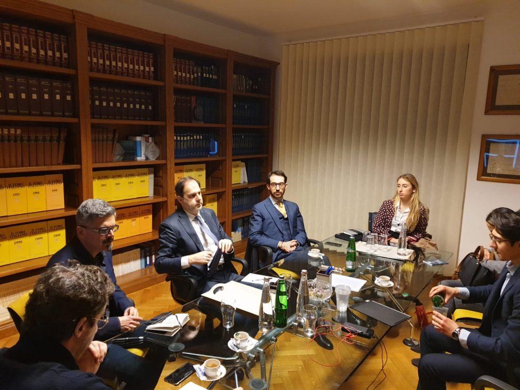 Intervista Fabiola Cinque all'avv. Alberto Improda l'avvocato ai tempi del Coronavirus