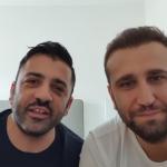PIO E AMEDEO STAPPIAMOCIACASA APERITIVO BIRRA PERONI