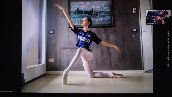 """La danza al tempo del Covid-19: """"Con una maglia da calcio diventiamo visibili"""""""