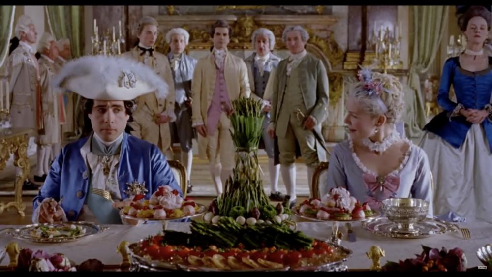 La Rosa nel cinema Marie Antoinette