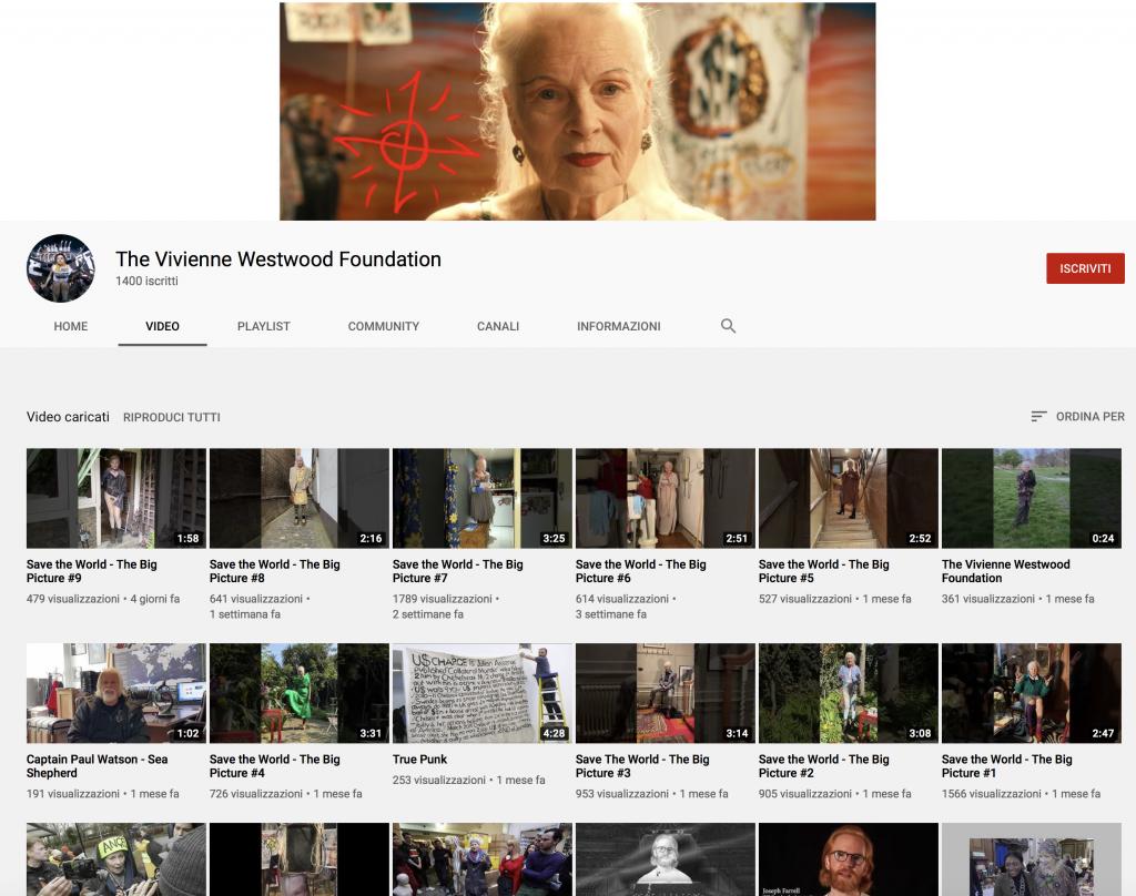 #MirrorTheWorld di Vivienne Westwood