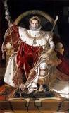 Napoleone I sul trono imperiale