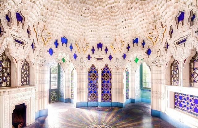 Castello Sammezzano, sala delle farfalle