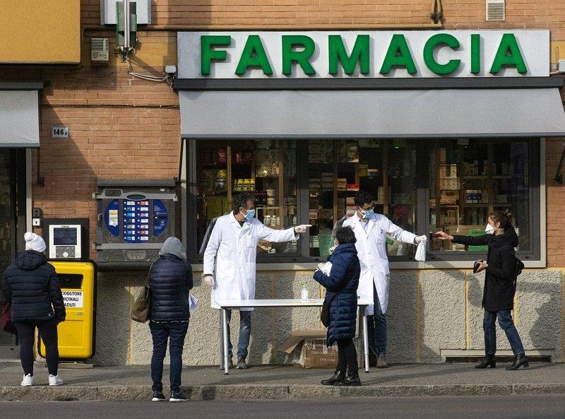 Bologna in quarantena. Foto Aneta Malinowska
