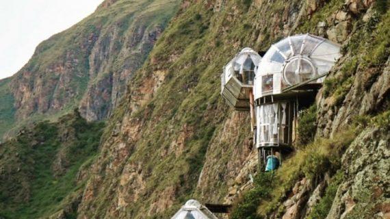 Skylodge Adventure Suites, l'hotel più folle del mondo in Perù
