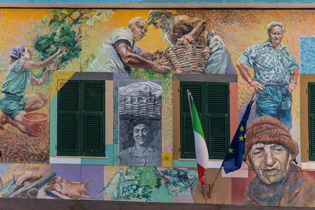 murales cinque terre