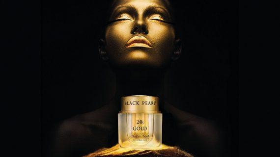 Black Pearl, la magia dell'oro sulla pelle… Parola di Cleopatra