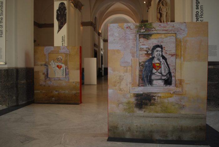Superwomen al MANN: la Street Art delle grandi donne ci aspetta