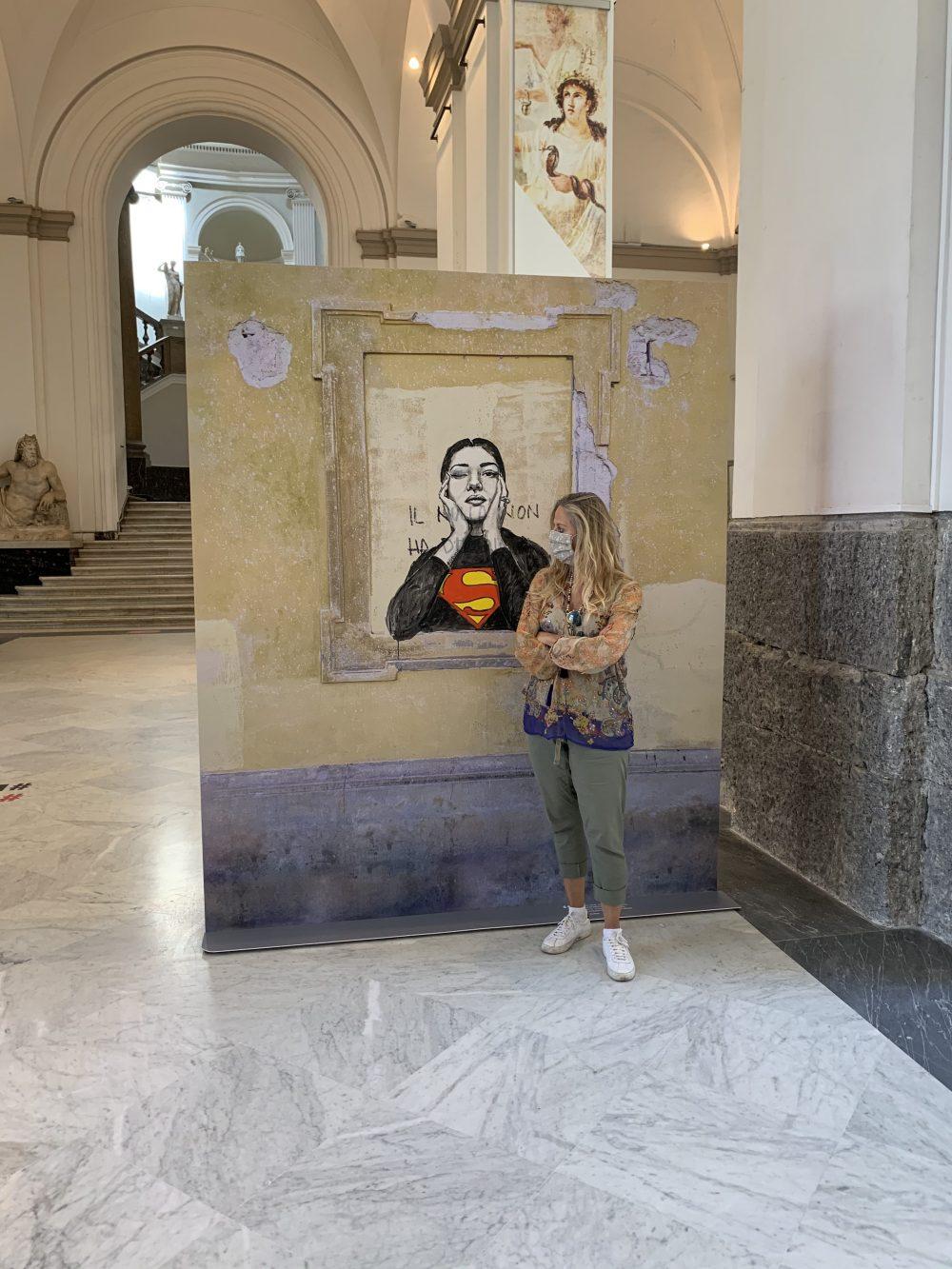 Superwoman al MANN. Foto MyWhere