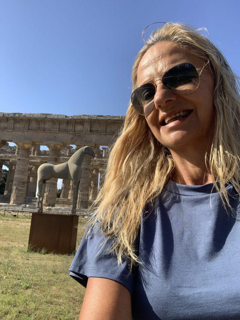 Mimmo Paladino Tempio Paestum